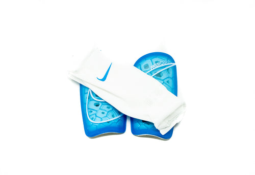 Nike Mercurial Lite Shin Guards, Blue & White