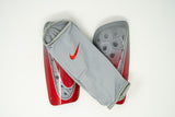 Nike Mercurial Lite Shin Guards, Grey & Red