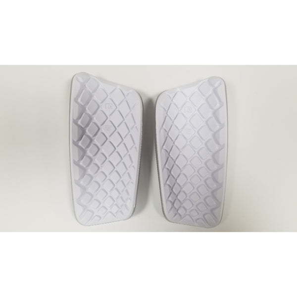 Nike Mercurial Lite Shin Guards, White & Black, Back View