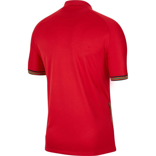 Portugal Euro 2020 Home Soccer Jersey, Adult, Back View