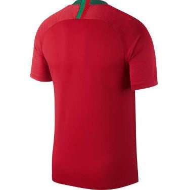 Nike Portugal World Cup 2018 Home Replica Soccer Jersey, Red, Short Sleeve, Back View