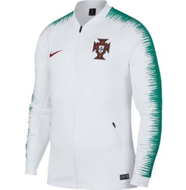 Nike Portugal World Cup 2018 Track Jacket - White