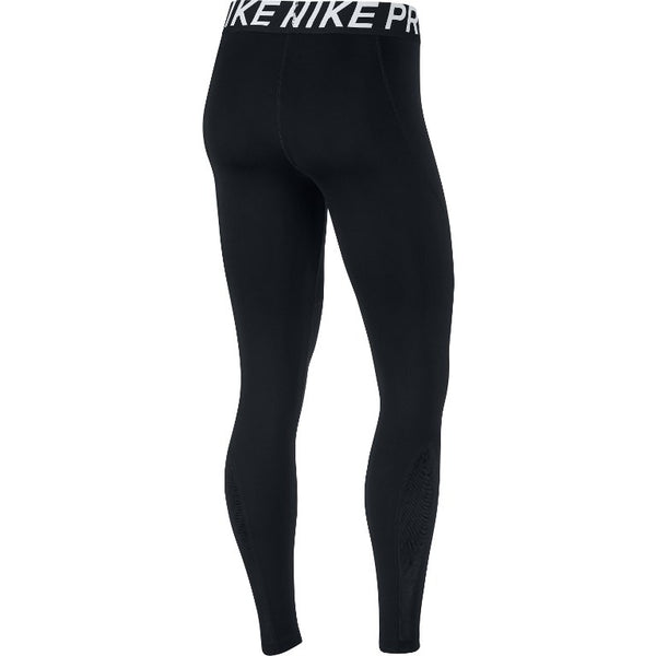 Nike Pro Women's Training Tights, Black, Back View