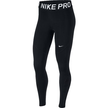 Nike Pro Women's Training Tights, Black, Front View
