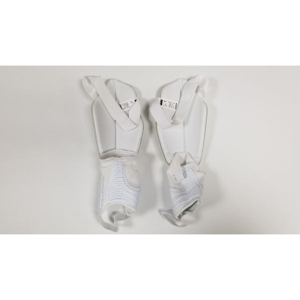 Nike Protegga Flex Shin Guards, White, Back View
