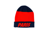Nike Paris Saint-Germain Beanie, Blue & Red, Front View