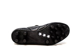 Pantofola d'Oro New Star Black FG Soccer Cleat, Leather Upper, 12 Conical Studs, Outsole View