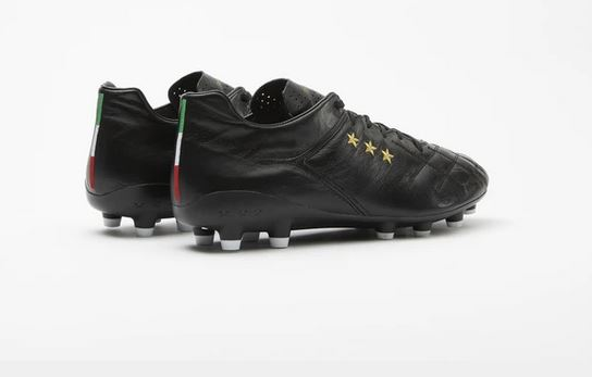 Pantofola d'Oro Superleggera Soccer Cleat, Kangaroo Leather Upper, Side View