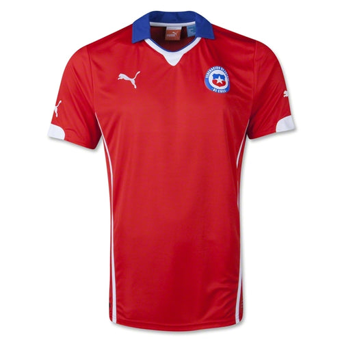 Puma Chile World Cup 2014 Home Soccer Jersey