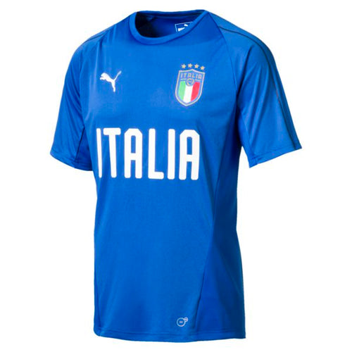 Puma Italia Training Jersey '18, Short Sleeve, Blue