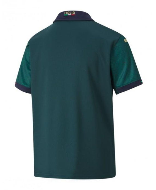 Puma Italy Euro 2020 Third Soccer Jersey, Back View