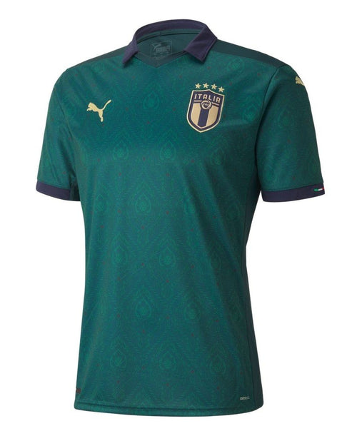 Puma Italy Euro 2020 Third Soccer Jersey, Front View