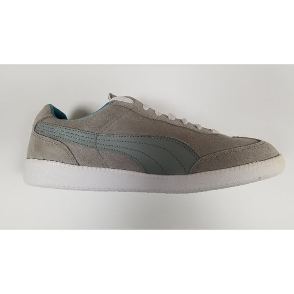 Puma Liga Suede, Grey, Side View