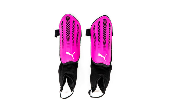 Puma Spirit II Youth Shin Guards, Pink