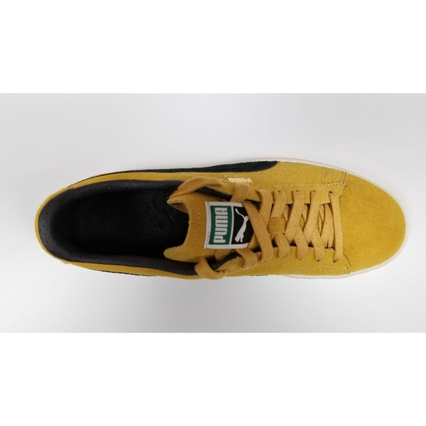 Puma Suede Classic, Yellow, Aerial View