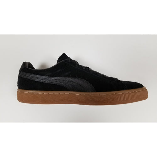 Puma Suede Classic NW, Black, Suede Upper, Rubber Soleplate, Side View