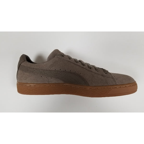 Puma Suede Classic NW, Grey, Suede Upper, Rubber Soleplate, Side View