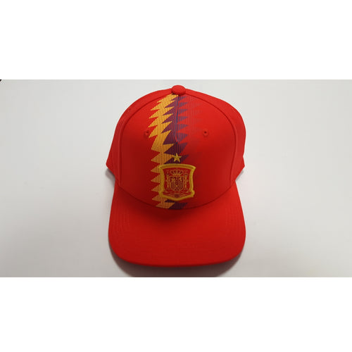 Adidas Spain World Cup 2018 Flat-Brim Cap, Red