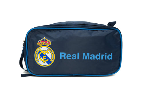 Real Madrid Blue Boot Bag, Blue Handle