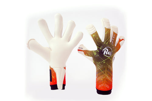 RG Bionix Roll/Negative CHR Goalkeeper Gloves, Roll-Finger & Negative Cut