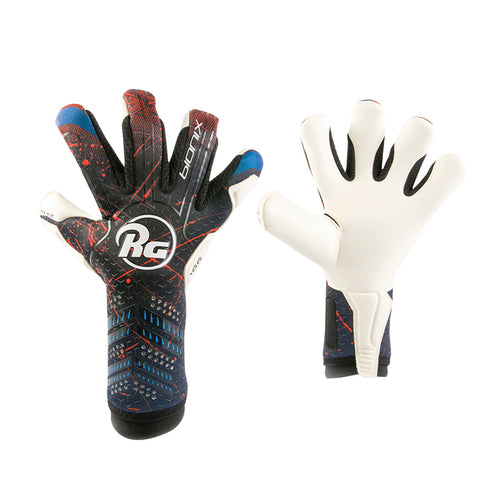RG Bionix Roll/Negative Goalkeeper Gloves, Roll-Finger & Negative Cut