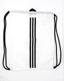 Adidas Real Madrid String Bag, White, Back View