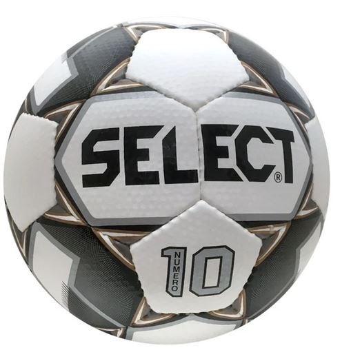Select Numero 10 Soccer Ball, Black & Gold, Size 5