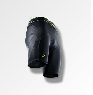 Storelli BodyShield Abrasion Slider Shorts, Black