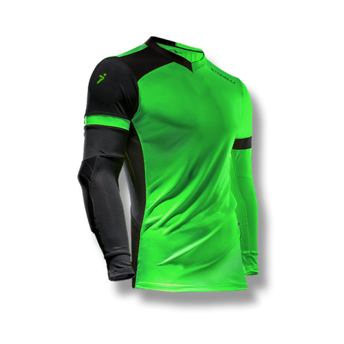 Storelli ExoShield Gladiator Youth Goalkeeper Jersey, Lime Green