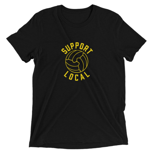 Talisman & Co. Support Local T-Shirt, Black & Yellow