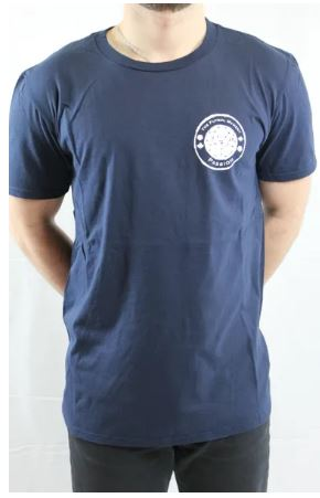 The Futbol Mvment Club Crest T-Shirt, Navy