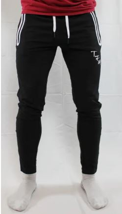 The Fubtol Mvment Performance Pants, Black, Front