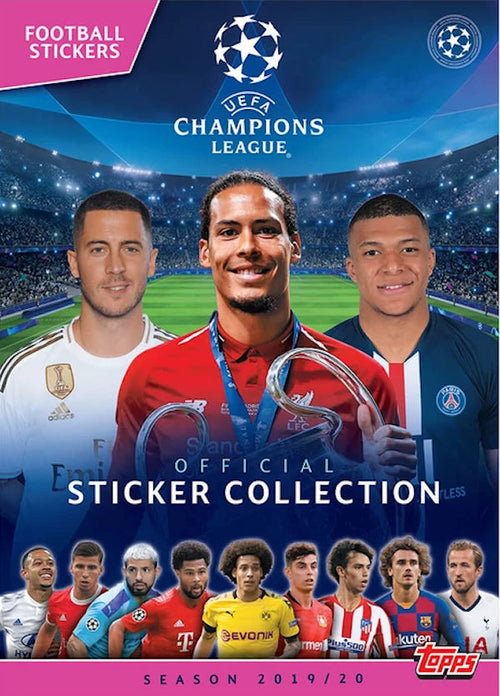 Topps Champions League Sticker Starter Album 19/20