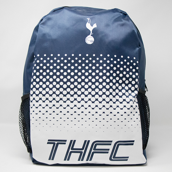 Tottenham Club Backpack, Navy & White, Front
