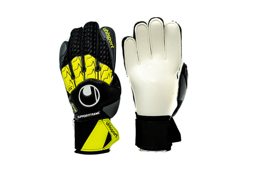 Uhlsport Soft SF Goalkeeper Gloves, Flat Cut