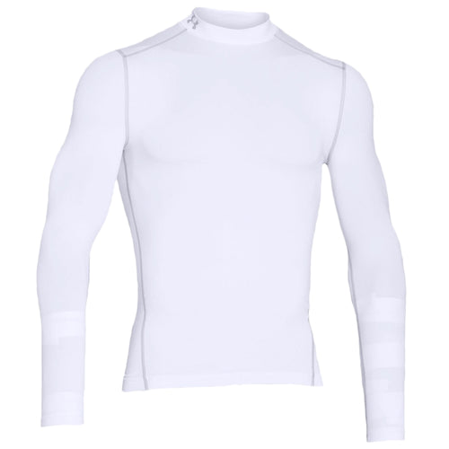 Under Armour Cold Gear Mock, White