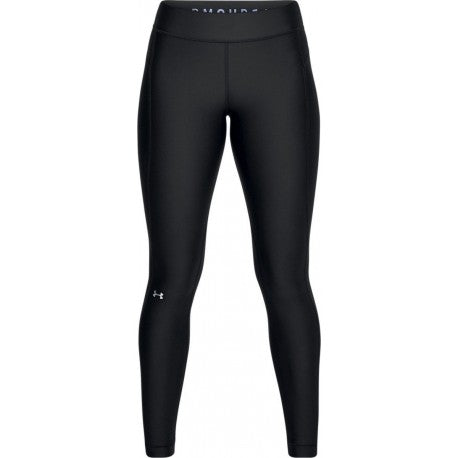 Under Armour Women's Heat Gear Leggings, Black