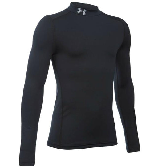 Under Armour Youth Cold Gear Mock, Black