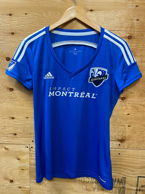 Women's Adidas Montreal Impact Home Soccer Jersey (2015)