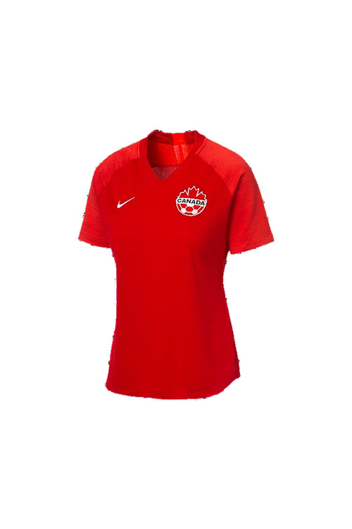 Nike Women's Canada Home Soccer Jersey '19, Red