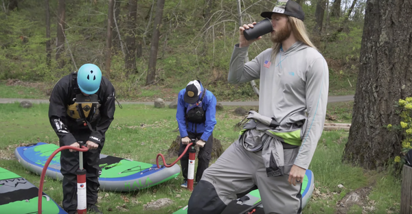 FAQ: How Long Does It Take To Inflate a SUP?