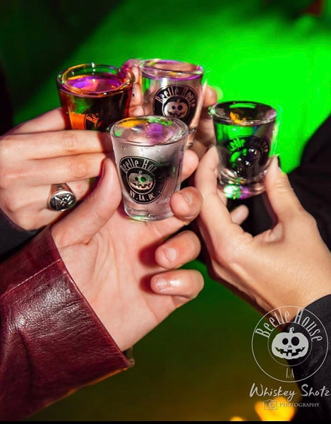 Beetle House Shot Glass