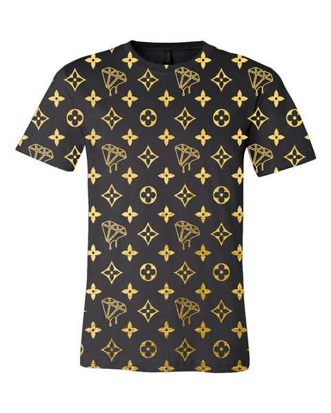 Ultra Brand LV All Over Pattern Shirt