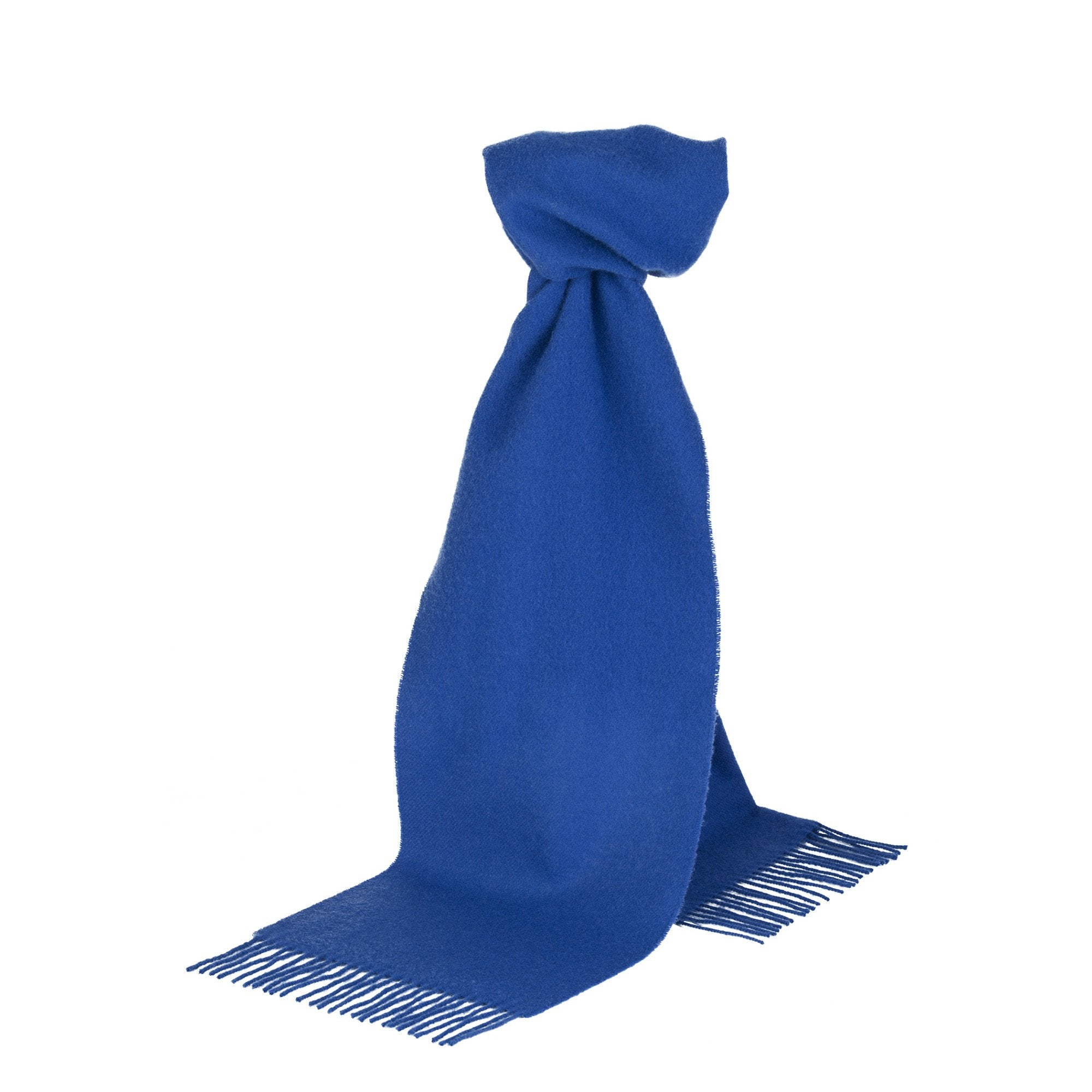 Royal Blue Merino Scarf