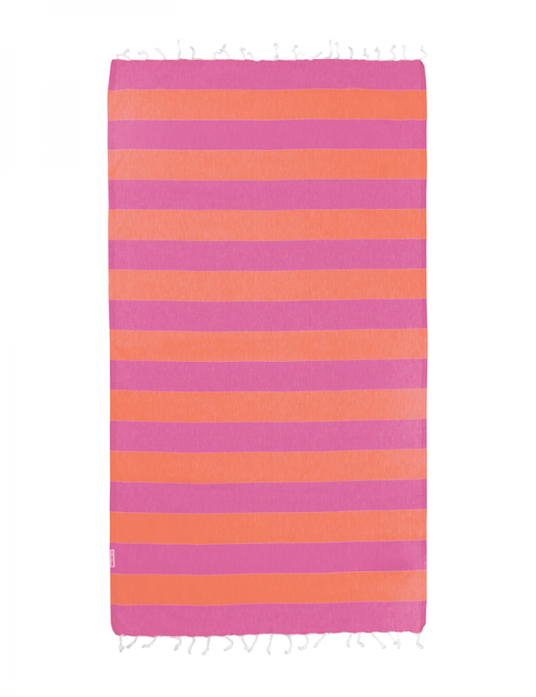 Pink/Orange Stripe