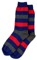 Graham Cashmere Stripe Sock