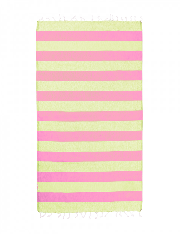Watermelon/Lime Stripe
