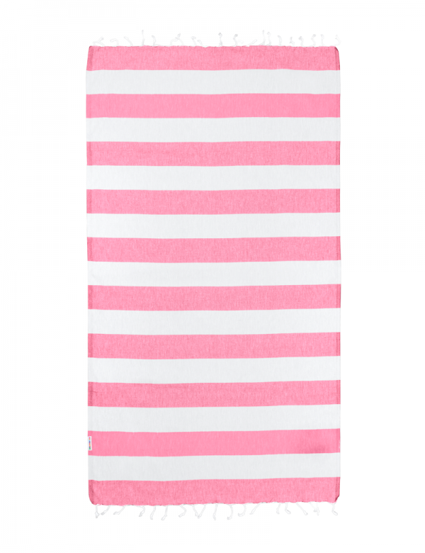 Watermelon/White Stripe