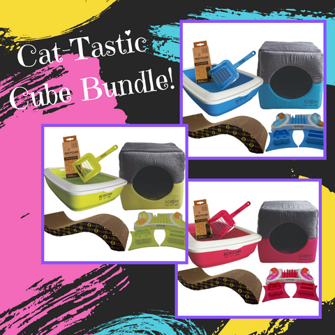 Cat-Tastic Cube Bundle - Ziggy Belle