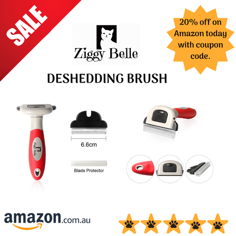 Ziggy Belle Deshedding Brush